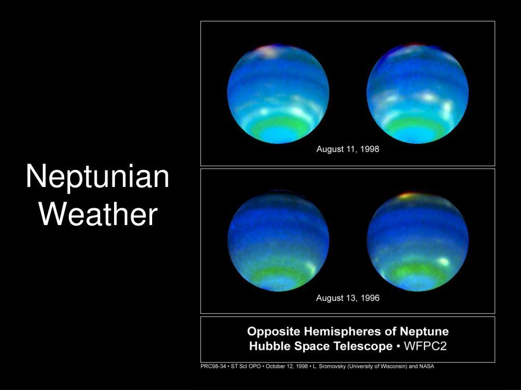 Neptunian Weather