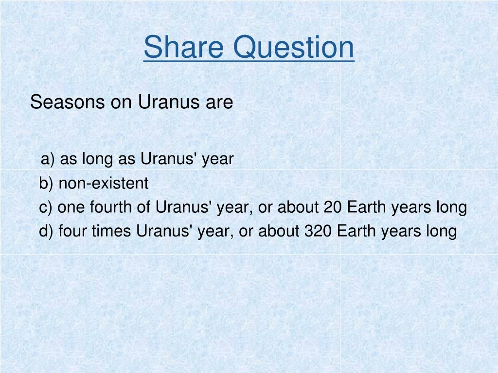 Share Question