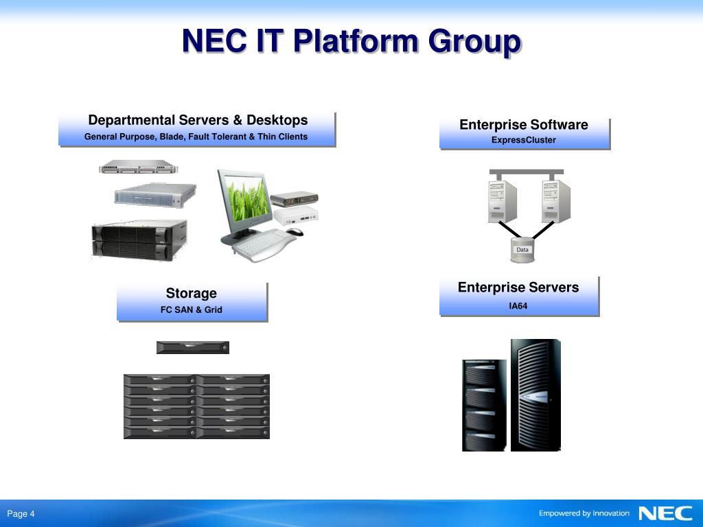 Departmental Servers & Desktops