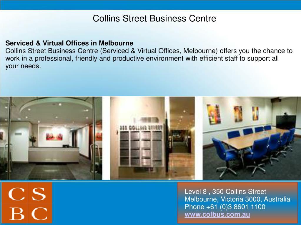 Collins Street Business Centre