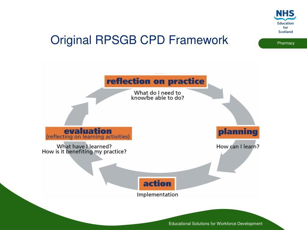 Original RPSGB CPD Framework