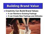 building brand value23