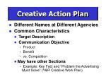 creative action plan