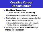 creative career opportunities59