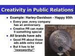 creativity in public relations16