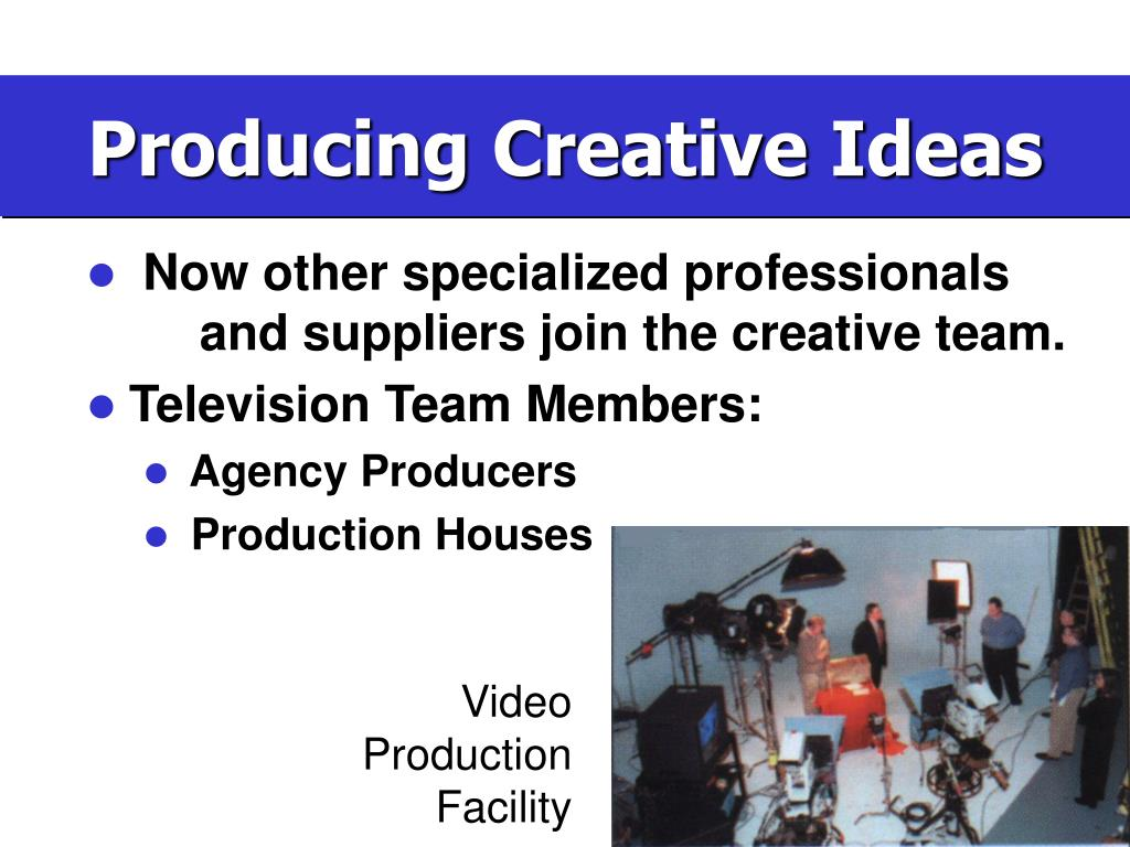 Video Production Facility