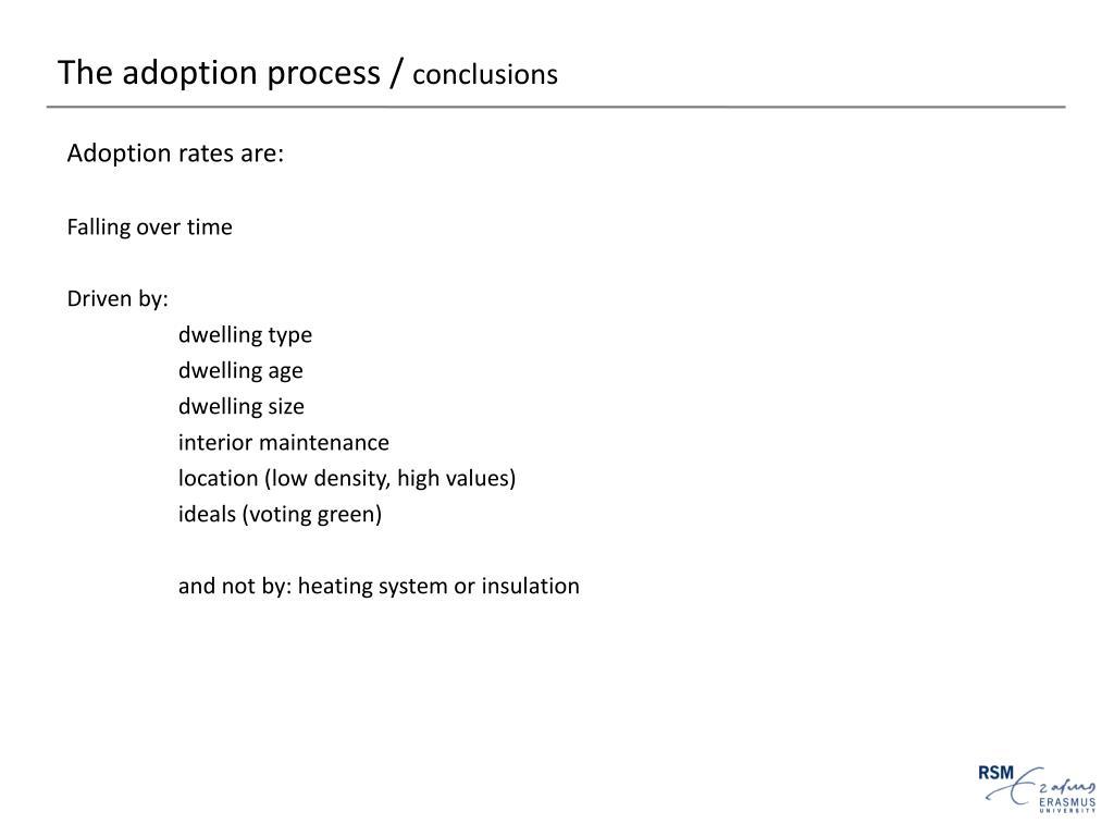 The adoption process /