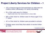 project liberty services for children 1