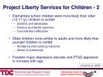 project liberty services for children 2