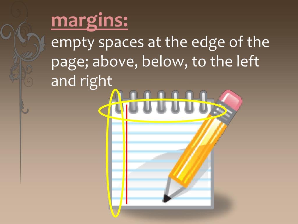 margins: