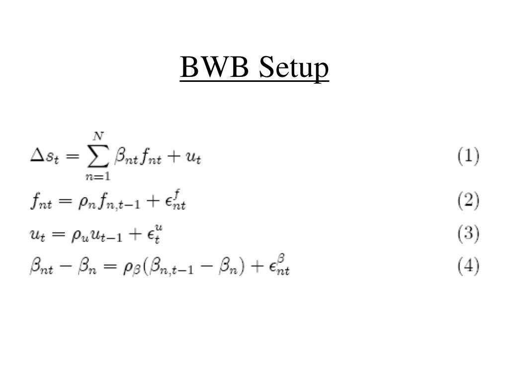 BWB Setup