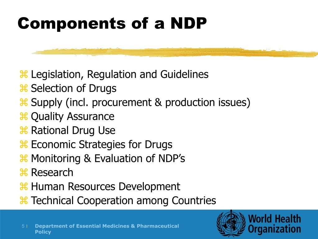 Components of a NDP