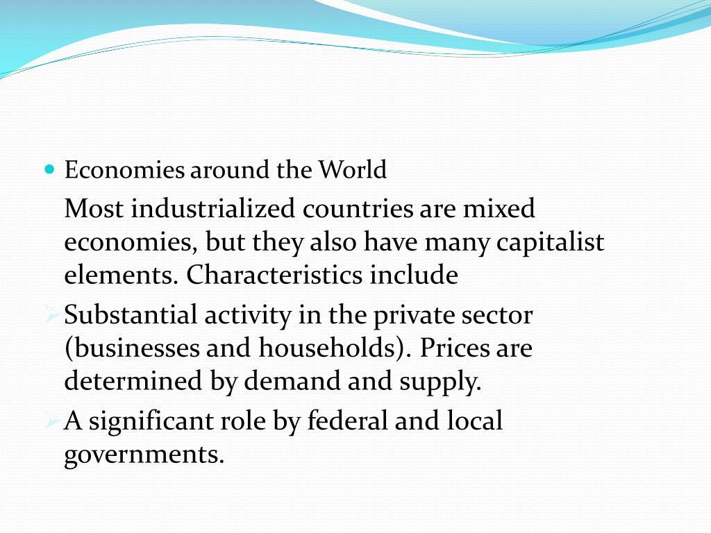 Economies around the World