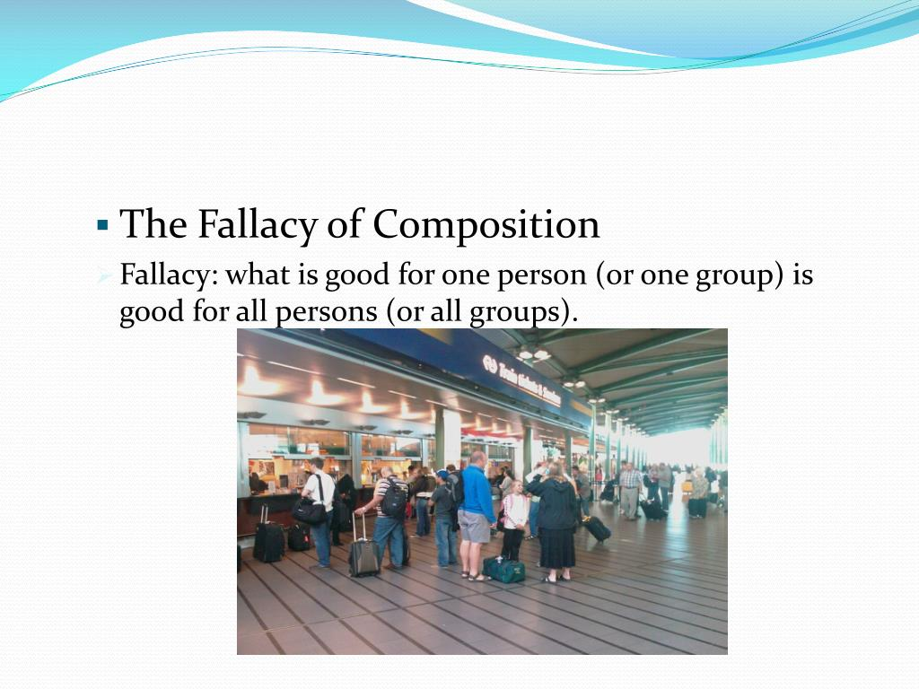 The Fallacy of Composition