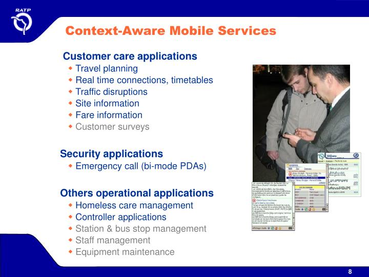 Context-Aware Mobile Services