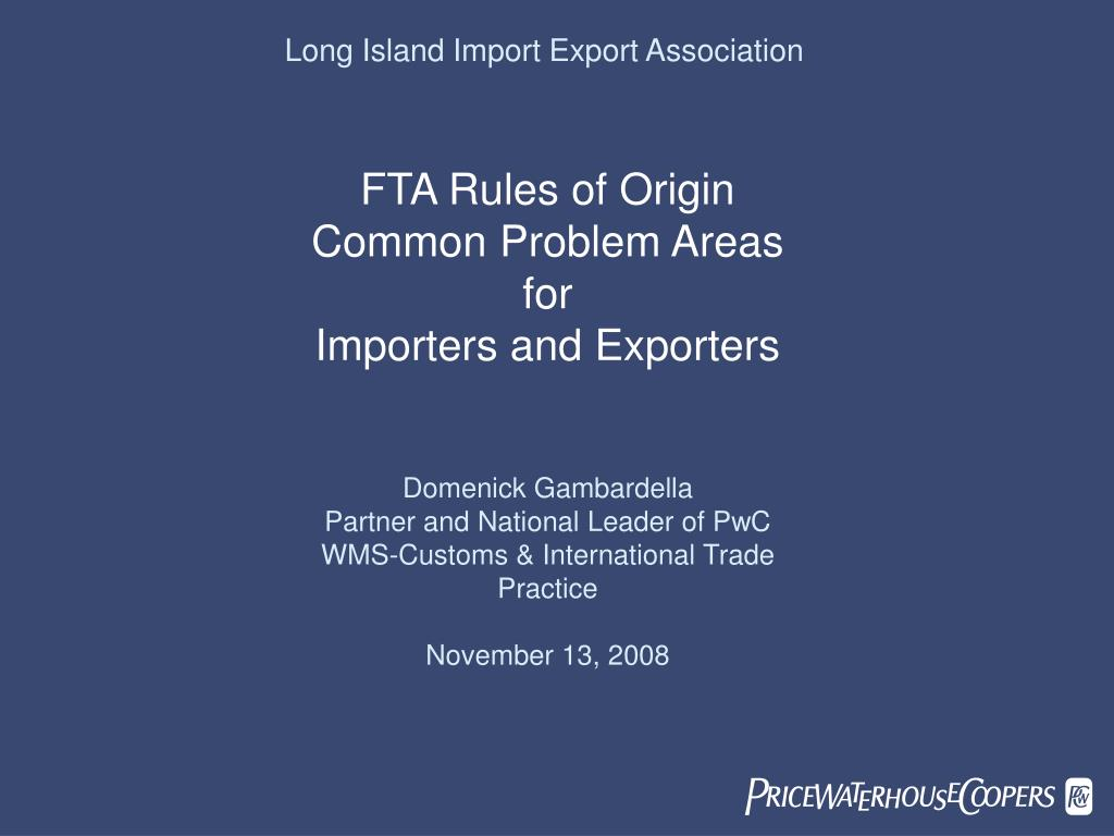 Long Island Import Export Association