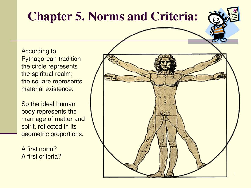 chapter 5 norms and criteria