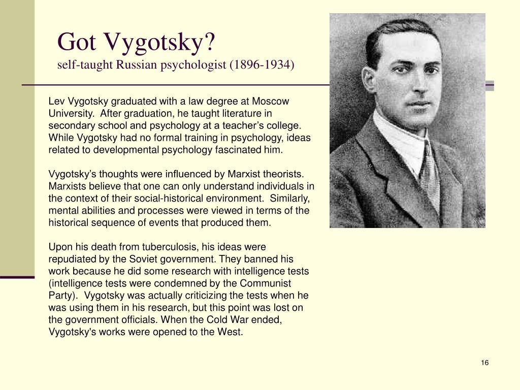 Got Vygotsky?