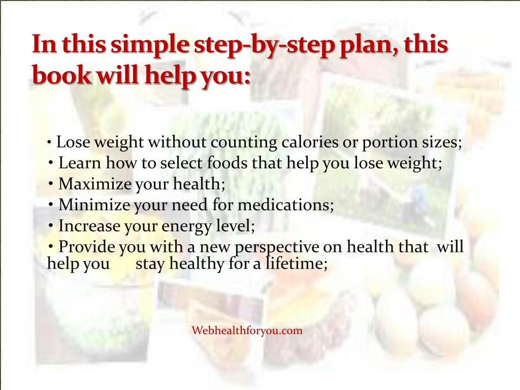 In this simple step-by-step plan, this book will help you: