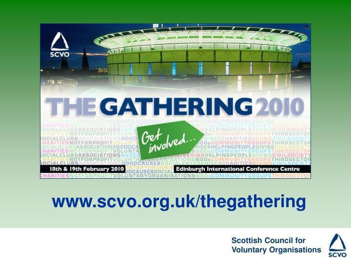 www.scvo.org.uk/thegathering