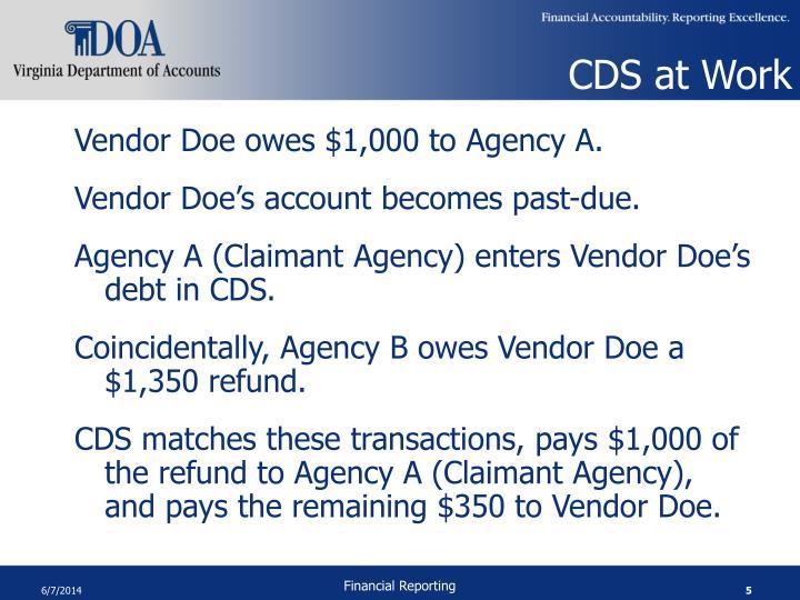 CDS at Work