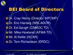 bei board of directors