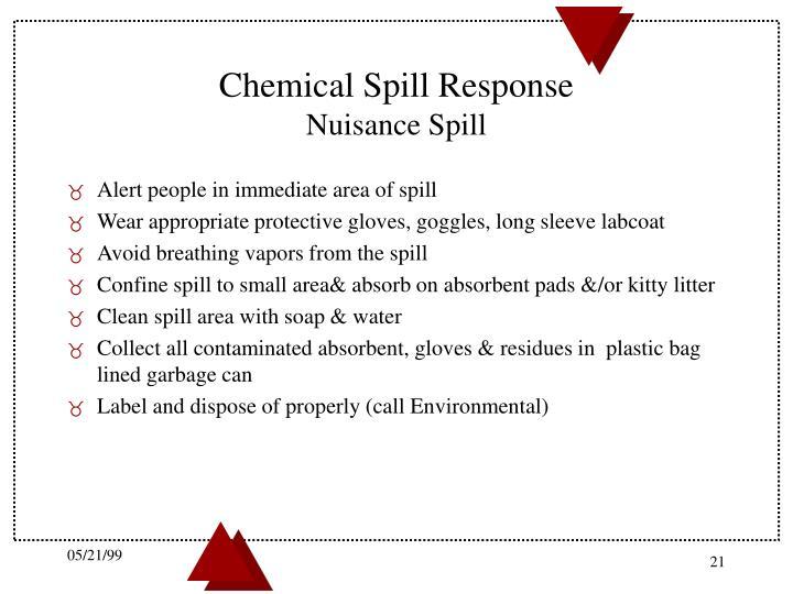 Chemical Spill Response