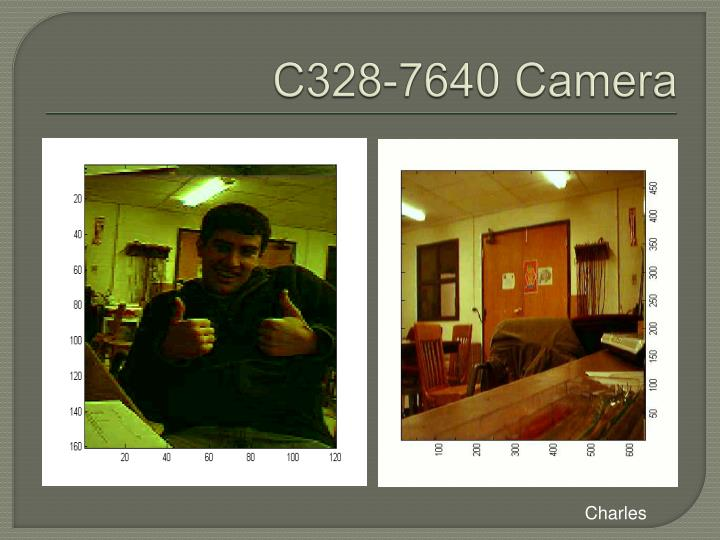C328-7640 Camera