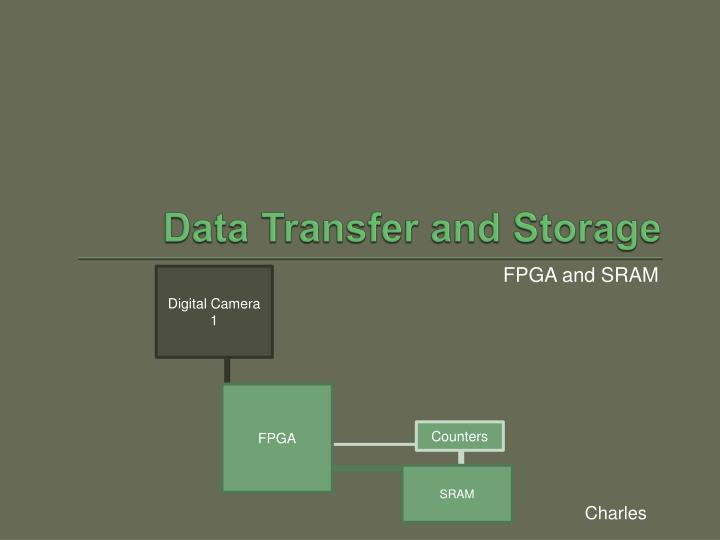 Data Transfer and Storage
