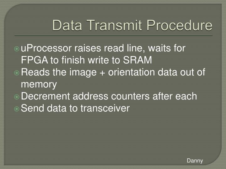 Data Transmit Procedure
