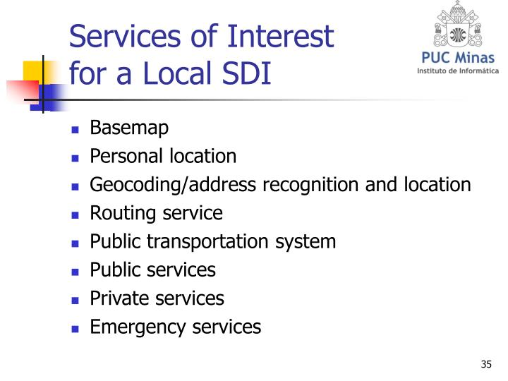 Services of Interest