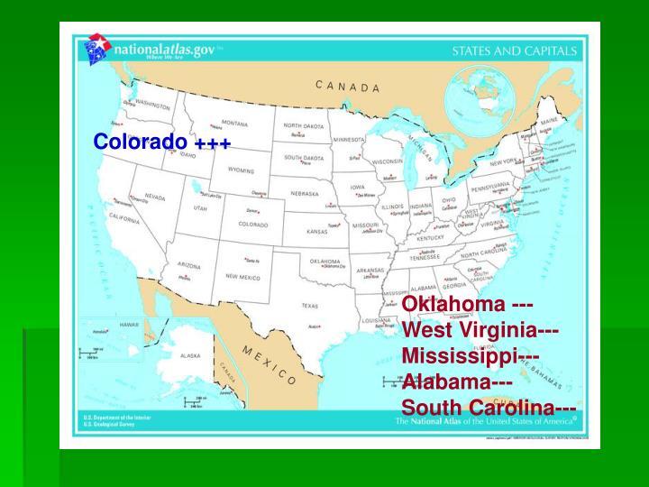 Colorado +++