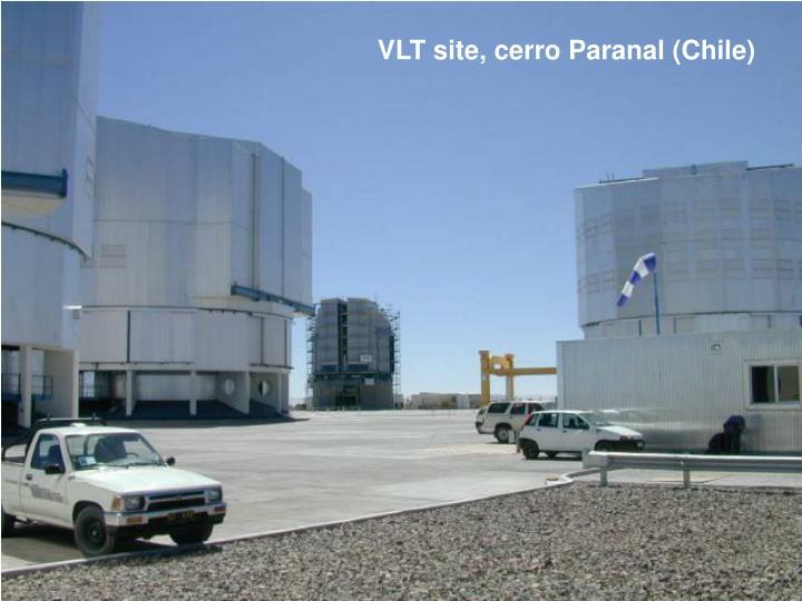 VLT site, cerro Paranal (Chile)