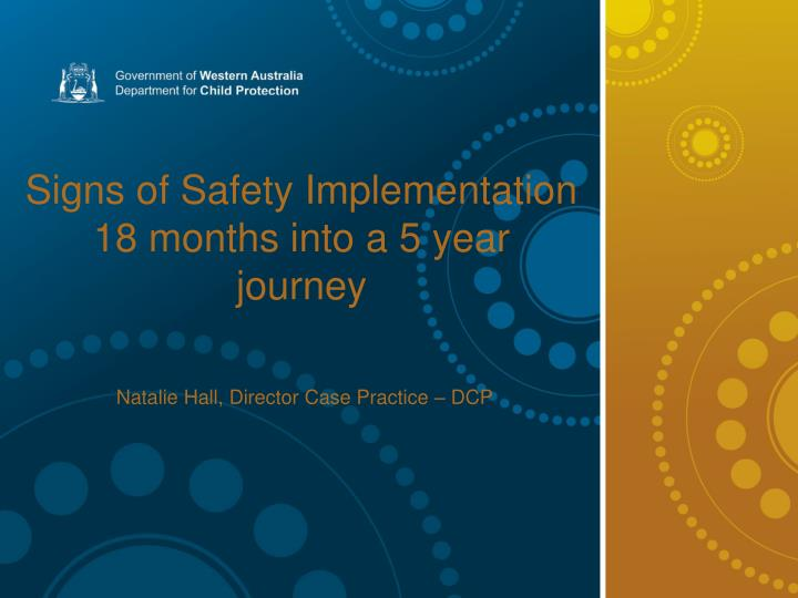 Signs of Safety Implementation