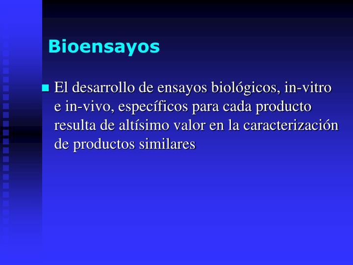 Bioensayos