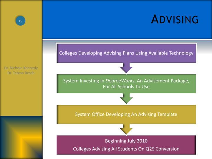 Advising