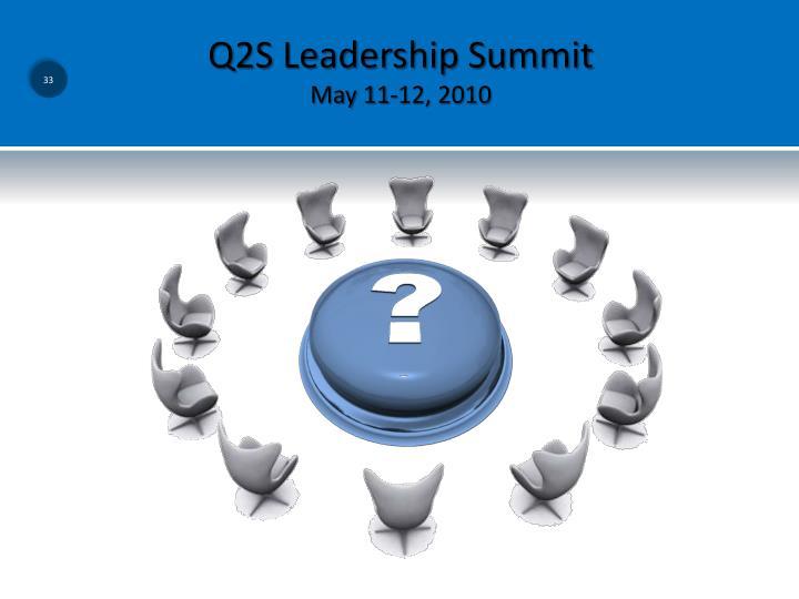 Q2S Leadership Summit