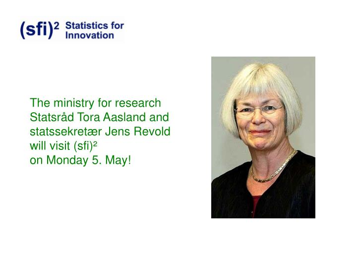 The ministry for research