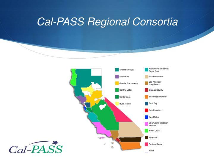 Cal-PASS Regional Consortia