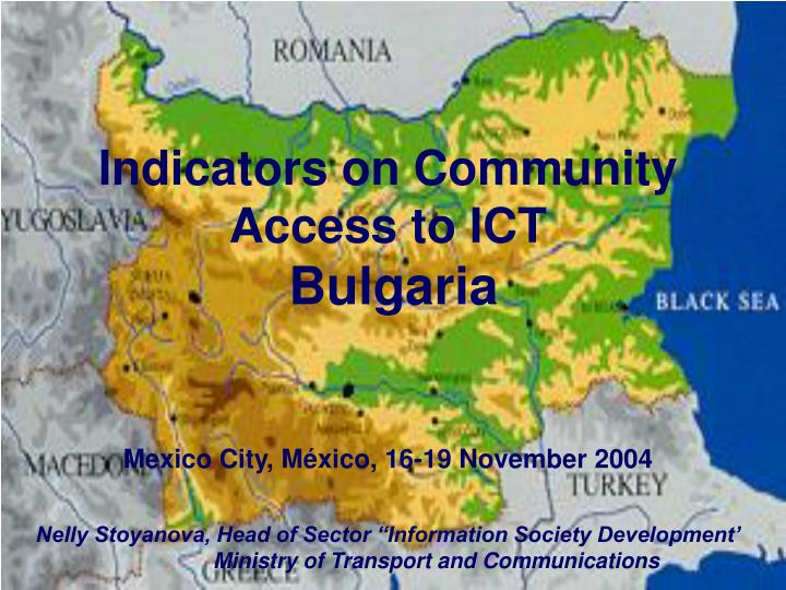Indicators on Community Access to ICT