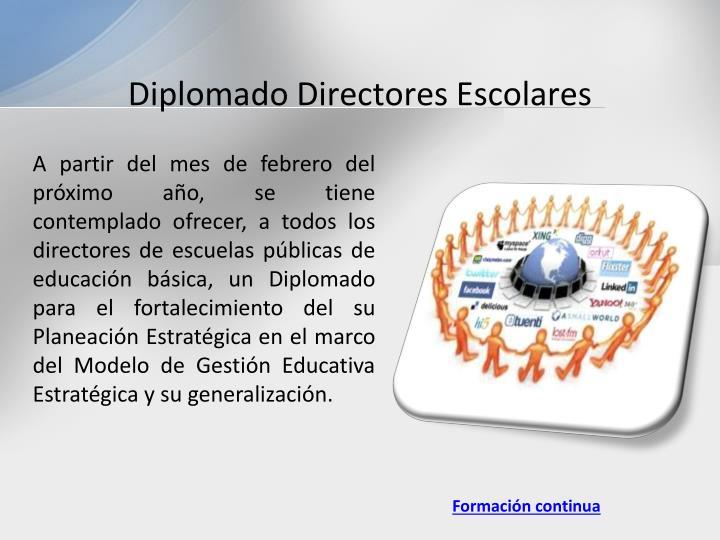 Diplomado Directores Escolares