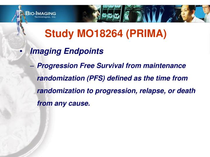 Study MO18264 (PRIMA)