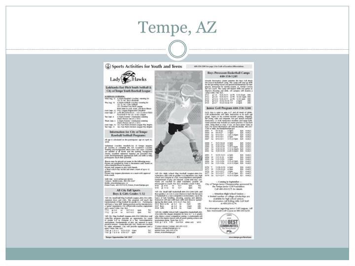 Tempe, AZ