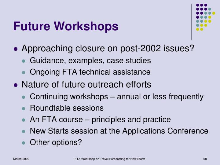 Future Workshops