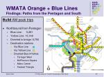 wmata orange blue lines findings paths from the pentagon and south1