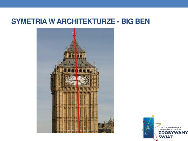 Symetria w architekturze - Big