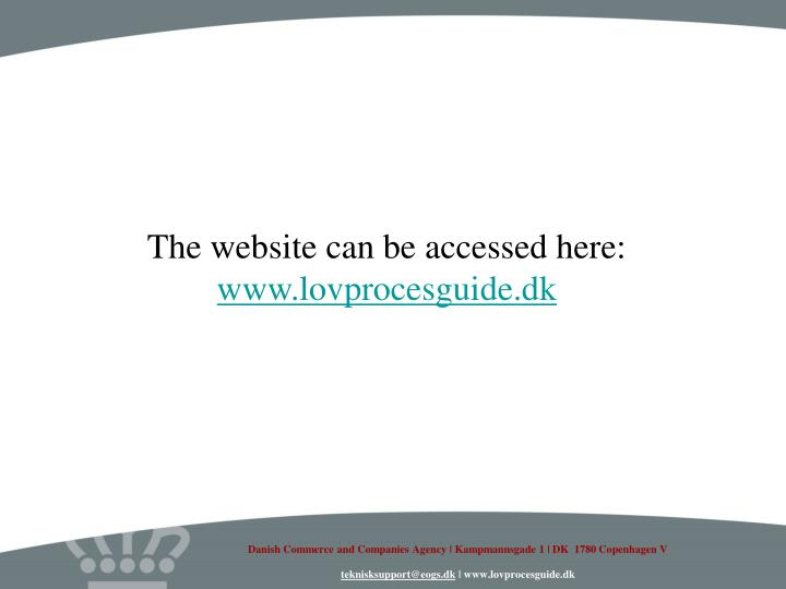 The website can be accessed here: