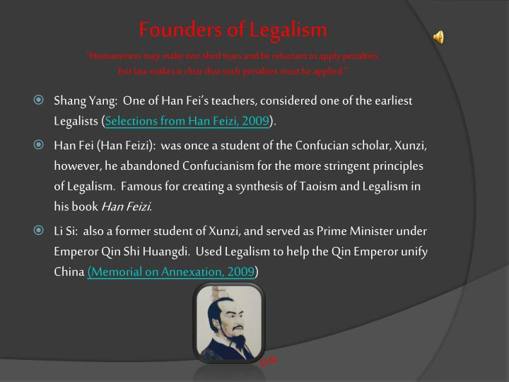 Founders of Legalism