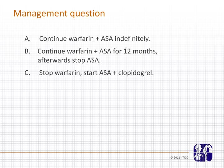 Management question