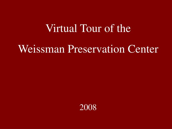 Virtual Tour of the